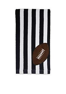 Fiber Reactive Football Stripe Kitchen Towel