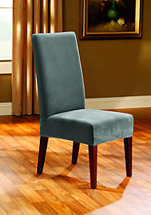 Sure Fit Stretch Pique Short Dining Chair Slipcover