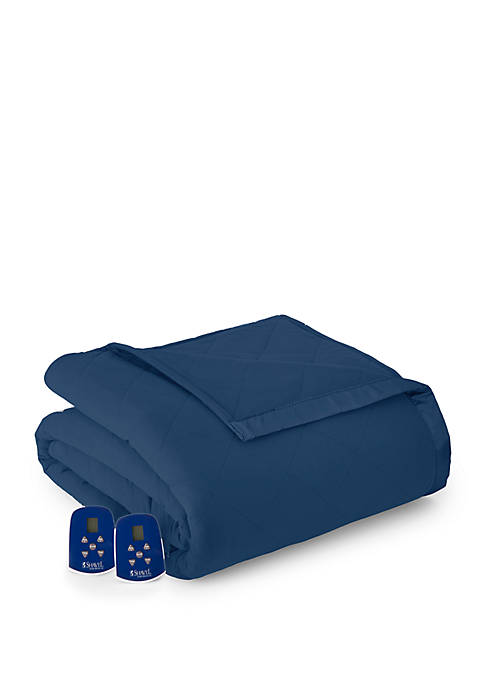 Micro Flannel Electric Heated Comforter