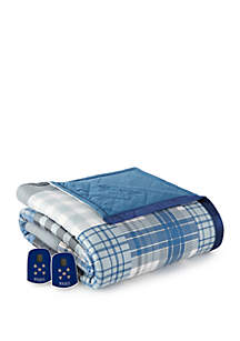 Micro Flannel Microflannel® Full Cardinal Electric Heated Comforter/Blanket