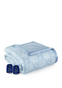 Reverse to Sherpa Electric Heated Blanket