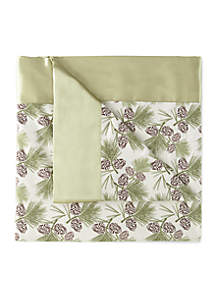 Shavel Micro Flannel® Pinecones All Seasons Year Round Sheet Blanket