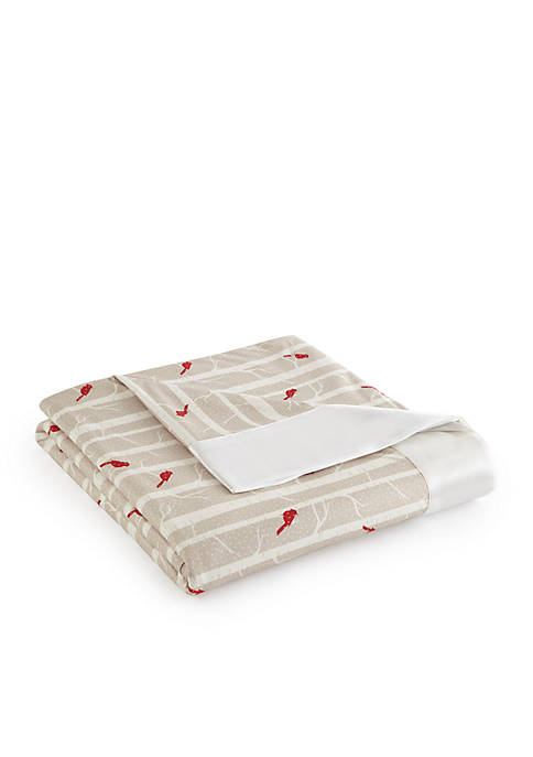Micro Flannel® Cardinals All Seasons Year Round Sheet Blanket