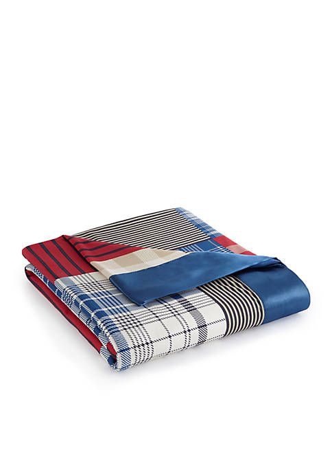 Micro Flannel® Berry Patch Plaid All Seasons Year Round Sheet Blanket