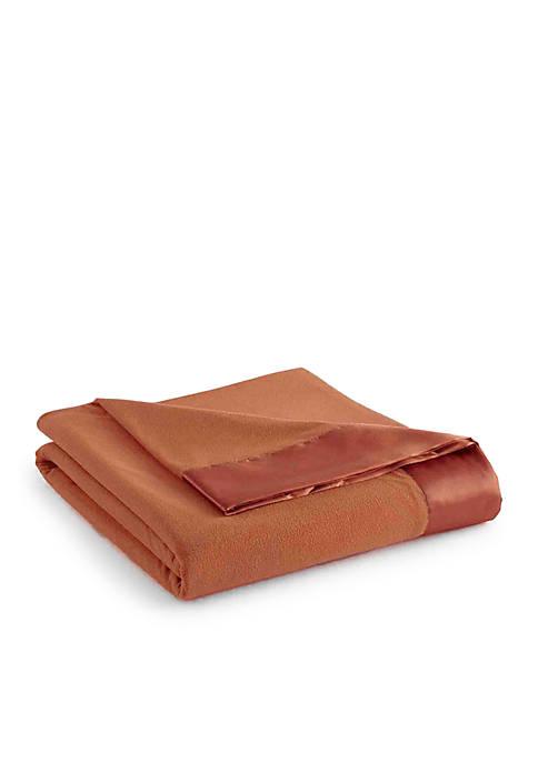 Micro Flannel Twin Blanket Spice