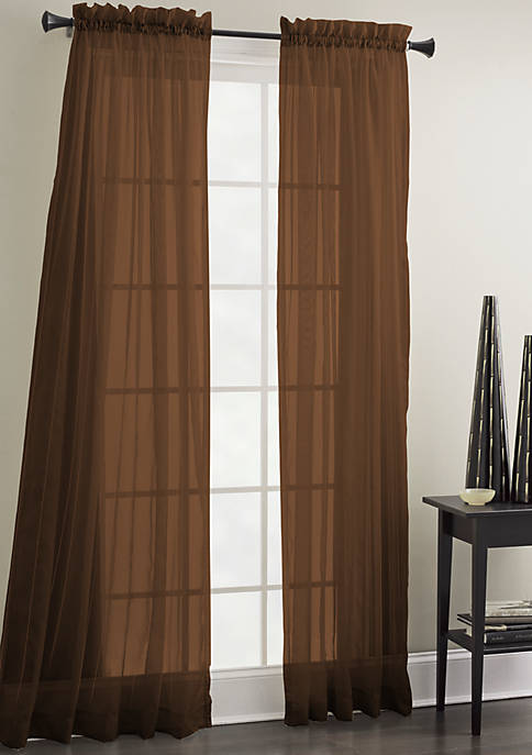 Sheer Mist Drapery Panel 40-in. x 84-in.