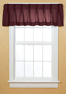Newport Pleated Window Valance 50-in. x 18-in.