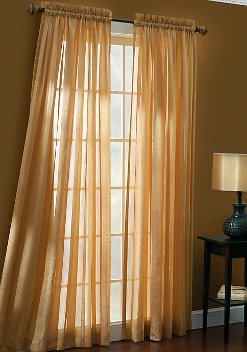 Forenza Tailored Gold Window Panel - Online Only