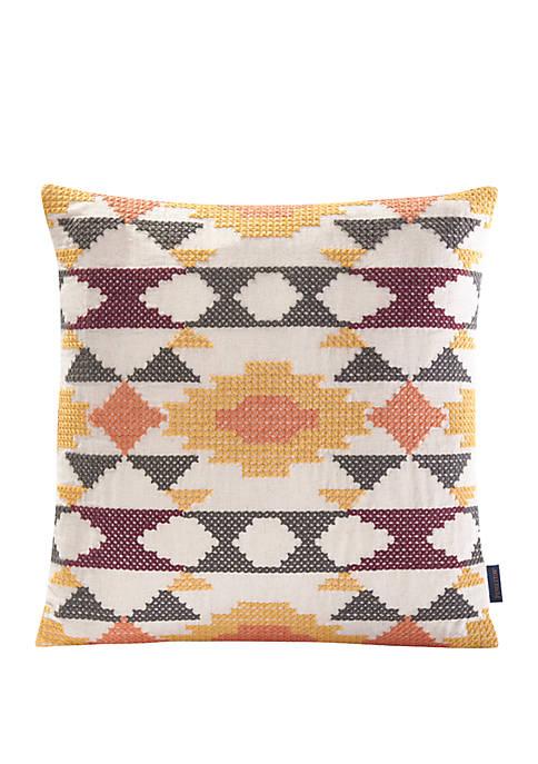 Arvada Cross Stitch Pillow