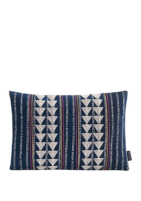 Indigo Pop Pillow
