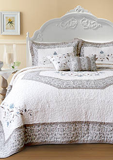 Nostalgia Home Fashions Agnes Bedding Collection