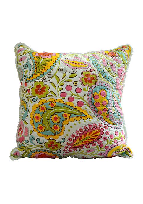 Dena Home™ Sun Beam Multicolored Paisley Embroidered Decorative