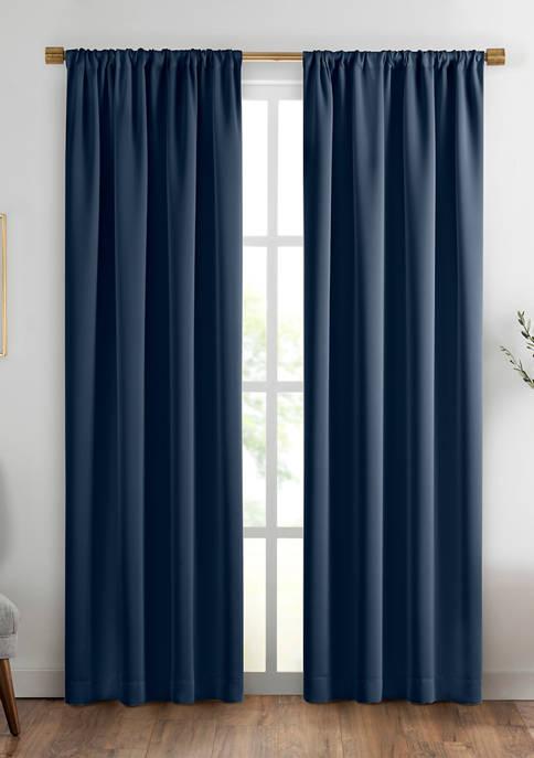Vanderbilt Extra Wide Blackout Window Curtain Panel