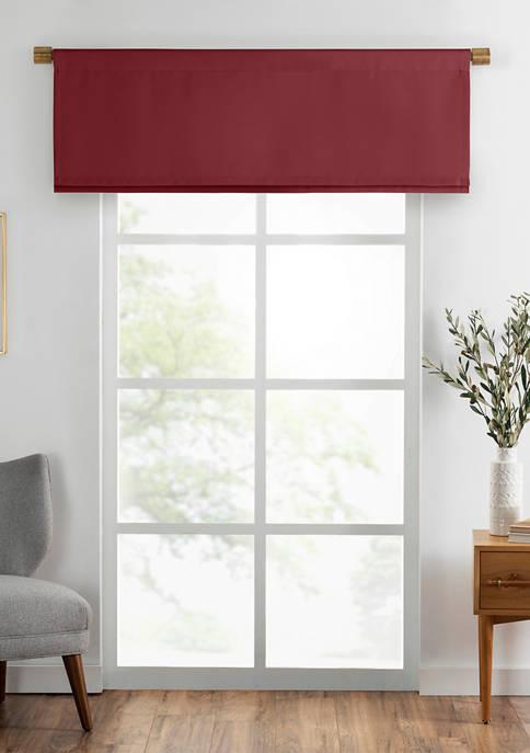 Elrene Vanderbilt Straight Pleated Window Valance