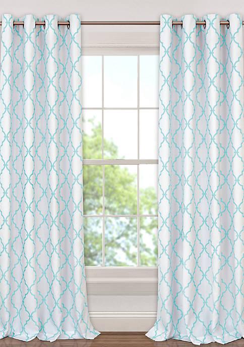 Elrene Candice Blackout Single Window Panel
