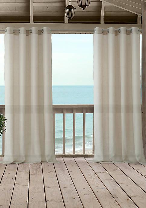 Bali Sheer Indoor/Outdoor Single Window Panel