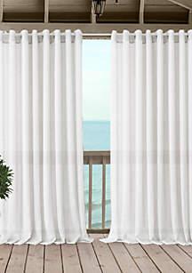 Carmen Sheer Indoor/Outdoor Single Window Panel