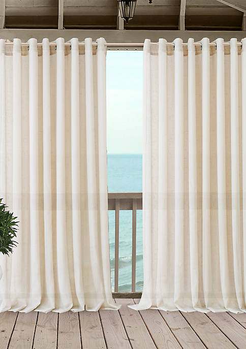 Elrene Carmen Sheer Indoor/Outdoor Single Window Panel