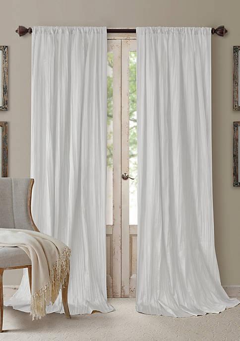 Athena 3 Piece Window Curtains and Scarf Valance Set