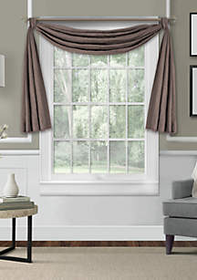 Elrene Leila Scarf Window Valance