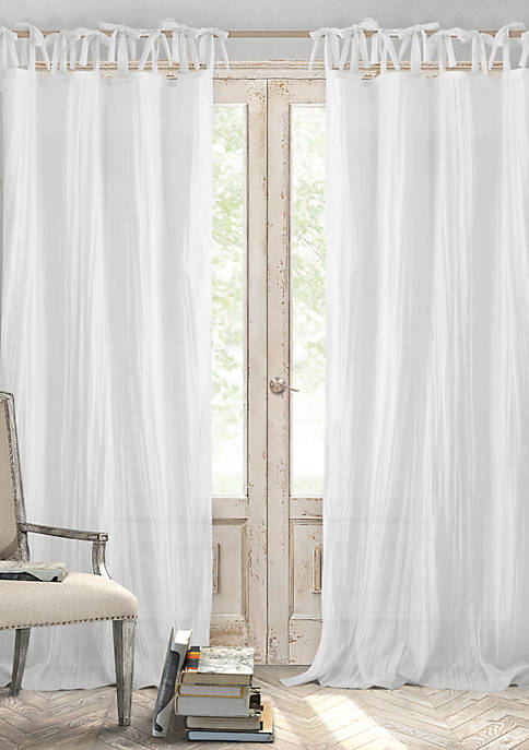 Elrene Jolie Crushed Sheer Single Window Panel