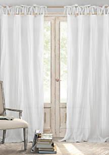 Elrene Jolie Crushed Sheer Single Window Panel