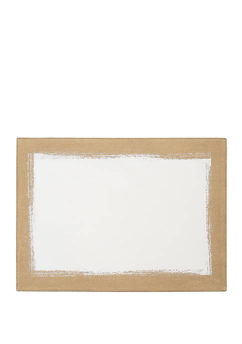 Metallic Brushstroke Placemats