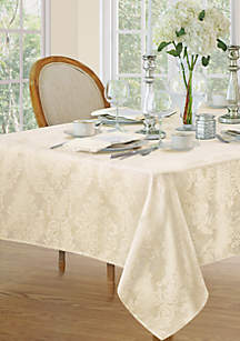 Elrene Barcelona Damask Oblong Fabric Tablecloth
