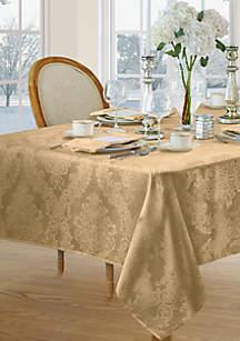 Barcelona Damask Oblong Fabric Tablecloth