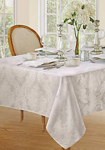 Barcelona Damask Oblong Tablecloth