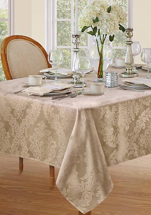 Elrene Barcelona Damask Oblong Tablecloth