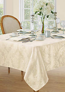 Elrene Barcelona Damask Oblong Tablecloth