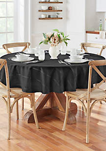 Elrene Elegance Plaid Round Tablecloth