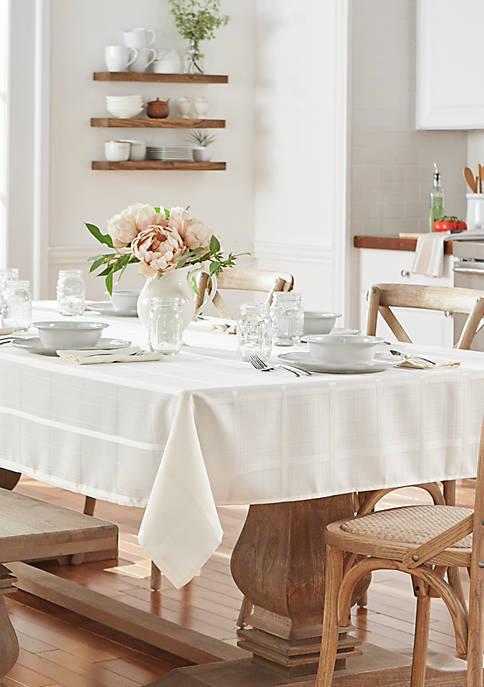 Elrene Elegance Plaid Tablecloth