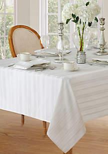 Denley Stripe Oblong Tablecloth