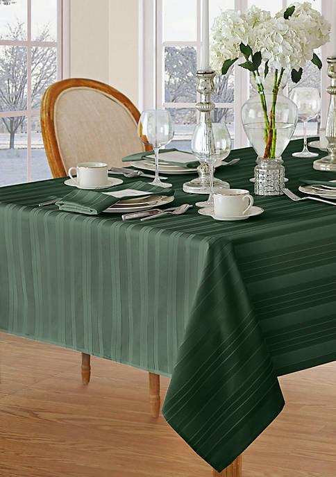 Elrene Denley Stripe Oblong Tablecloth