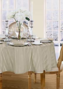 Denley Stripe Round Tablecloth