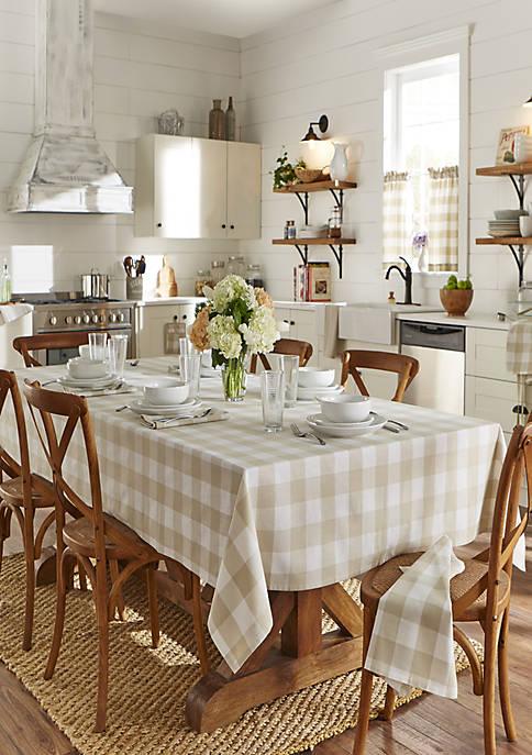 Elrene Farmhouse Living Buffalo Check Tablecloth Belk