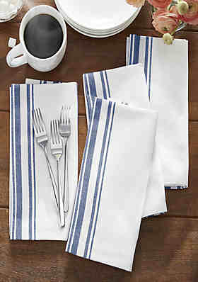 4 pcs Pink Napkins 1 to 12 Scale Dollhouse Kitchen Napkin Rings Dining Room