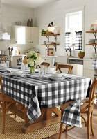 Farmhouse Living Buffalo Check Tablecloth Collection