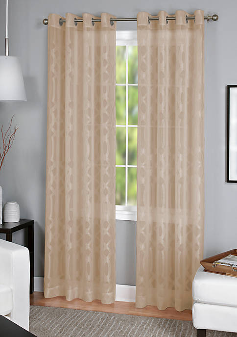 Elrene Latique Sheer 52-in. x 95-in. Window Panel