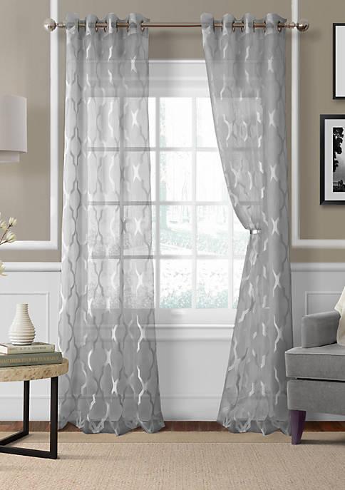 Elrene Sonata Sheer Window Panel
