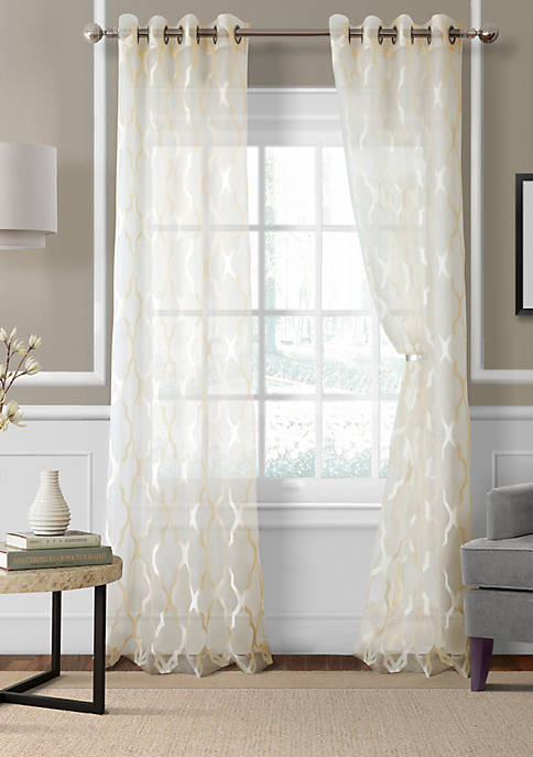 Elrene Sonata Sheer 52-in. x 95-in. Window Panel