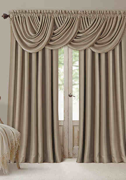 curtain stripe drapes insulated thermal thermalogic the valance shop curtains pair weathermate clearance panel grommet