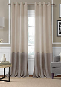 Melody Sheer Colorblocked Grommet 52x84\