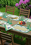 French Garden Placemats Set Of 4