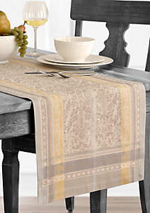 Promenade Jacquard Table Runner