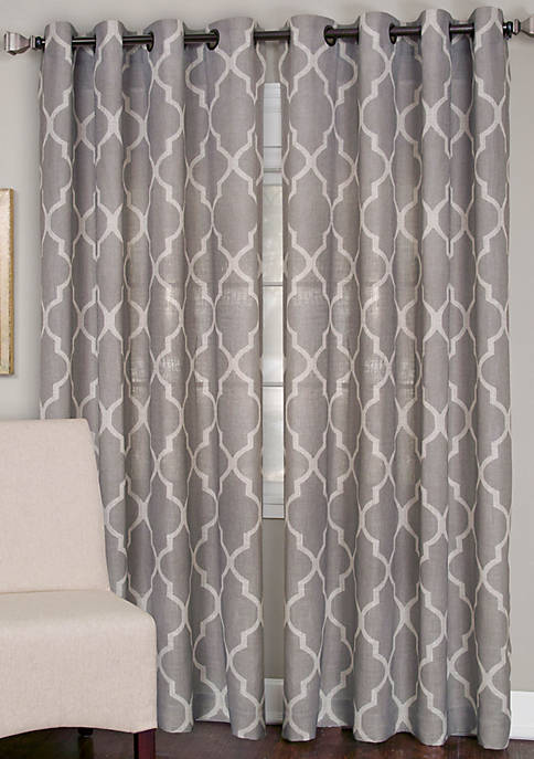Elrene Medalia 52-in. x 95-in. Window Panel
