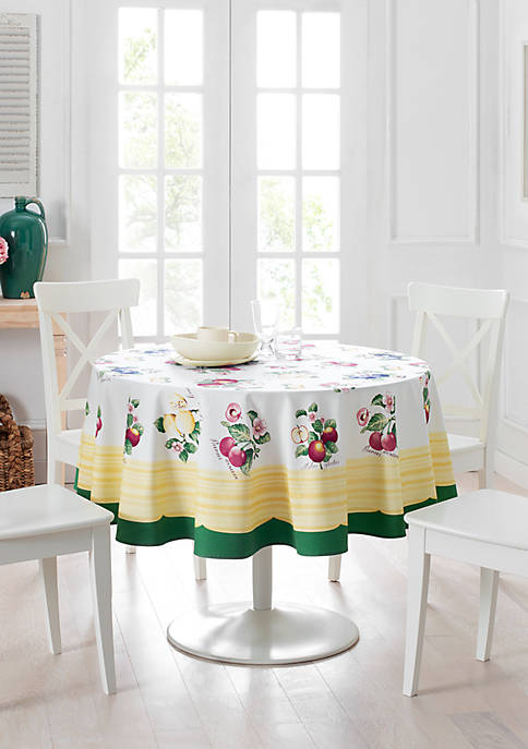 French Garden Round Tablecloth