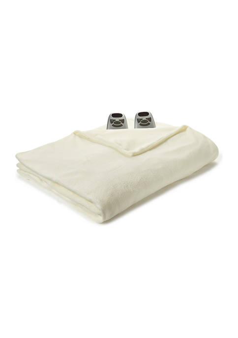 Biddeford Ultra Soft Plush Heated Blanket